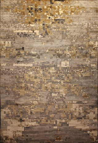 Metis Charcoal Gold Carpets & Rugs