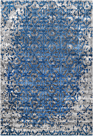 OASIS Grey Blue Carpets & Rugs