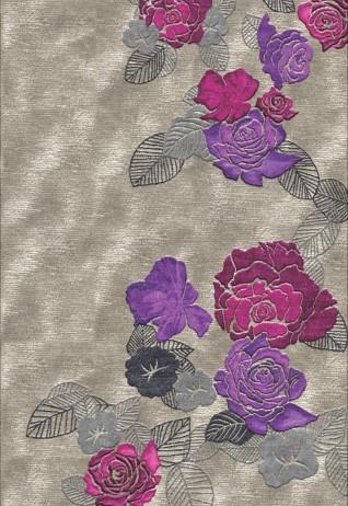 Serene Fuchsia Mauve Carpets & Rugs