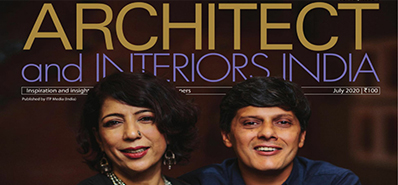 Architect & Interiors India Magazine-July- 2020