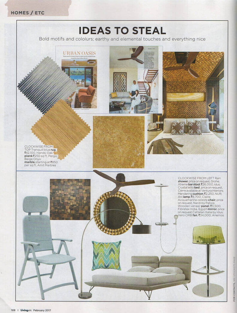 Hands, Living ETC Magazine, February 2017