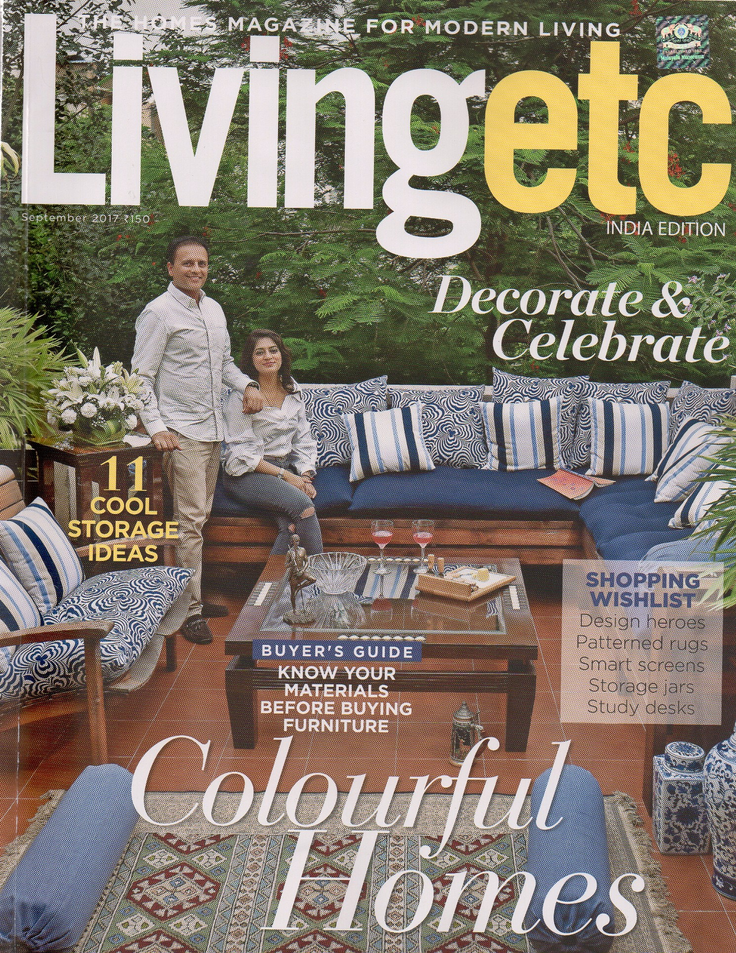 Hands, Living ETC Magazine, September 20173