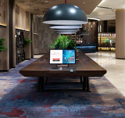 SWISSOTEL- Singapore Hotel carpets